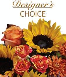 Fall Floral Basket <br>Designer's Choice - Best Value