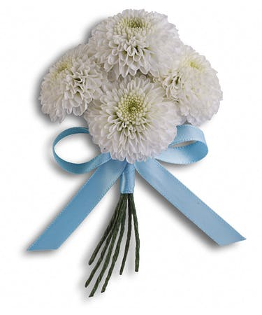 Country Romance Boutonniere Prom Delivery Palm Beach Florida